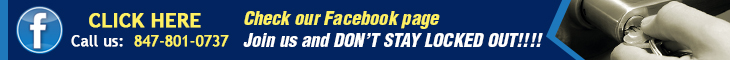 Join us on Facebook - Locksmith Northbrook